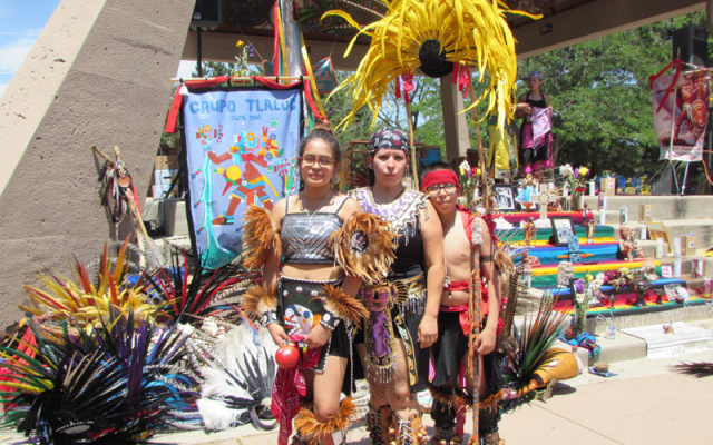 Aztec Dancers At La Raza Park Summer 2016 (76)