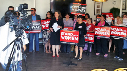 Stand with Women Press Conference 2105 (1)