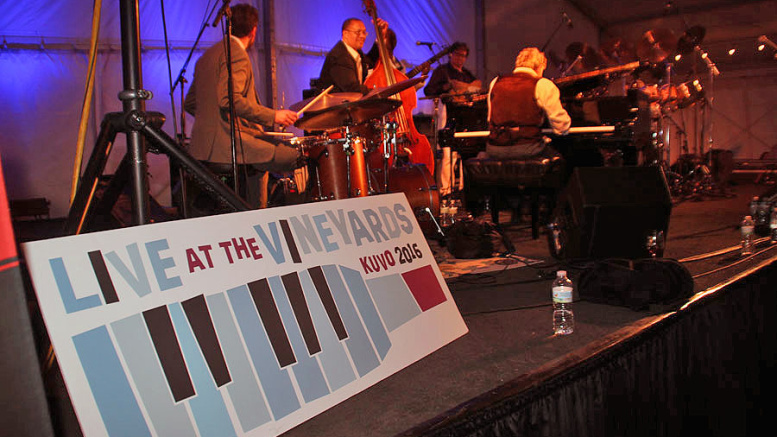 If you liked Sabor you are going to love KUVO's  Jazz in the Vineyards.