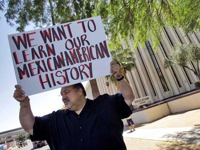 The Tucson Unified School District (TUSD) is resurrecting its Mexican-American studies program. Matt York/AP
