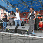 """""""Where else can you find 12 of Colorado's hottest bands on one stage for one event but at the Luis Romero stage at the Cinco de Mayo celebration in Denver."""