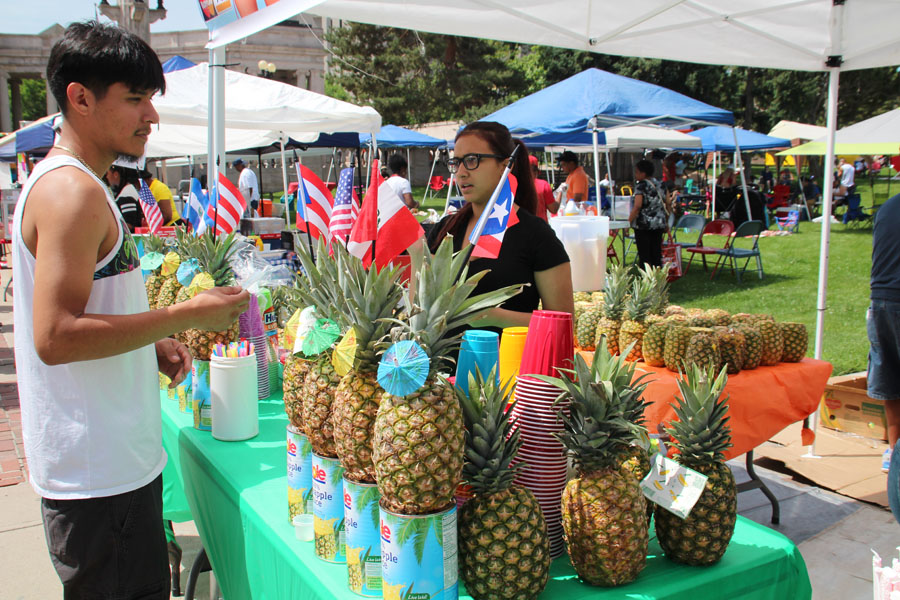 The Taste of Puerto Rico Festival takes place June 10th at Denver's Civic Center Park. Photo Latin Life Denver Media