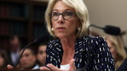 Secretary of Education Betsy DeVos testifies during a hearing before the Labor, Health and Human Services, Education and Related Agencies Subcommittee of the House Appropriations Committee May 24, 2017 on Capitol Hill in Washington, DC.  (Photo: Alex Wong, Getty Images)