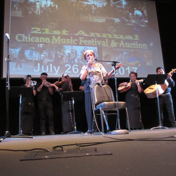 "Last year Las Tesoros thrilled audiences. They began their career as four women from South Texas: Rita ""La Calandria"" Vidaurri, Blanquita Rodriguez ""Blanca Rosa"", Beatriz ""La Paloma del Norte"" Llamas, and Anita Janet Cortez ""La Perla Taptia."""