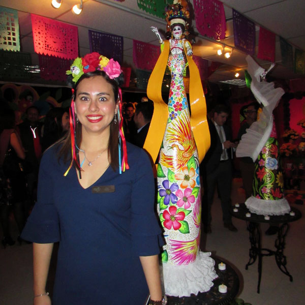 Ana Valles, Interim Executive Director of the Mexican Cultural Center