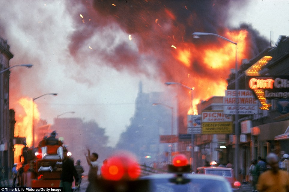 Late photographer Lee Balterman captured the fierce unrest, which left America stunned and Detroit scarred to this day, in a collection of heartbreaking yet powerful pictures, published by Life.com on the 45th anniversary of the event.