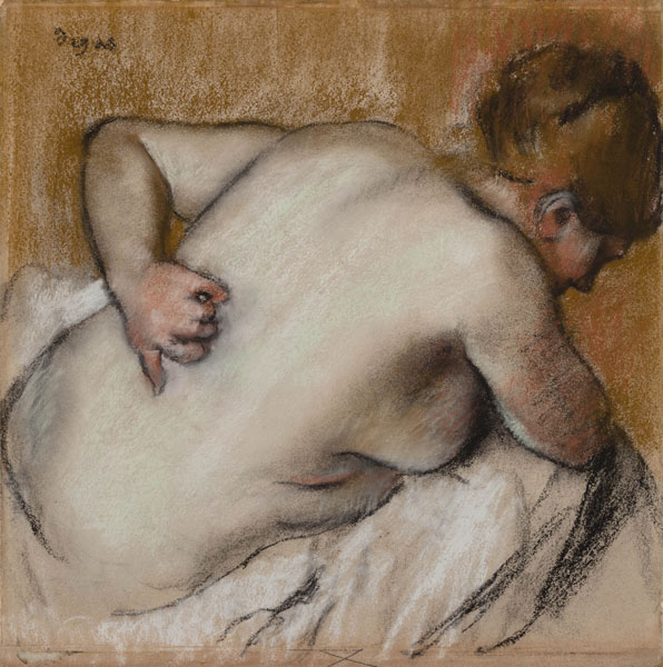 Degas-Woman Scratching her Back-1973.161