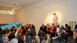 A full house for the opening of Pachucos  y Serianas. Photos by Victoria Paige Gonzalez Marketing & PR Coordinator