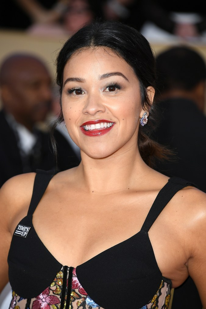 LOS ANGELES, CA - JANUARY 21: Actor Gina Rodriguez attends the 24th Annual Screen Actors Guild Awards. Steve Granitz/WireImage