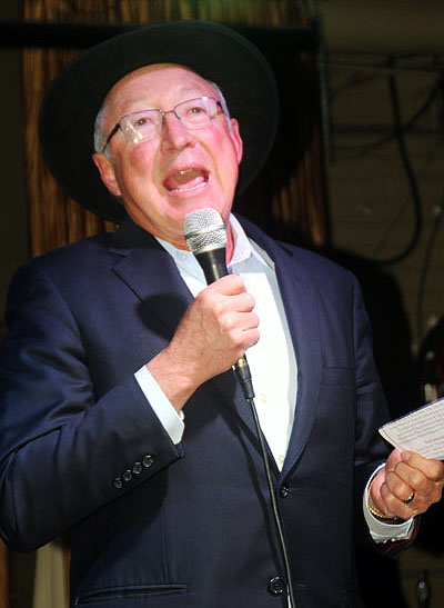 Ken Salazar, former Colorado Senator & Secretary of the Interior under President Barack Obama .