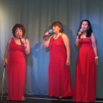 From left to right, Dianne Nino, Loy Torrez, Dolores Moya-The Burrito Supremes