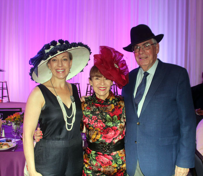 (From right to left) DCPA Chairman Martin Semple, DCPA Trustee Patty Baca and DCPA President & CEO Janice Sinden