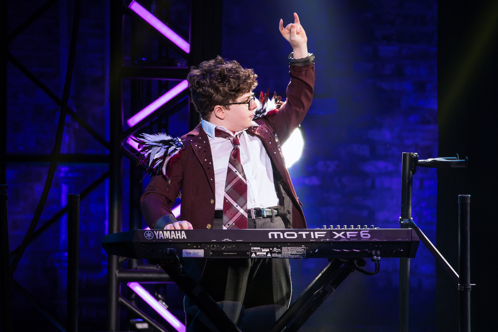 Denver Center_Theo Mitchell-Penner in the School of Rock Tour. © Matthew Murphy.