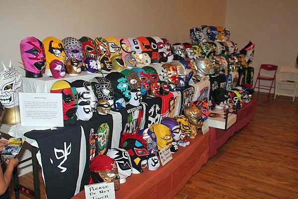 There are dozens of Lucha Libre masks on display at Museo de las America, (see more in the photo gallery below).