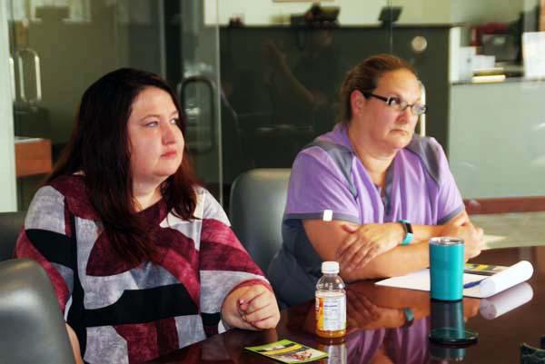 L-R: Tammy Pimble, SpringRock Dental and Renee Hall, Clinica Tepeyac
