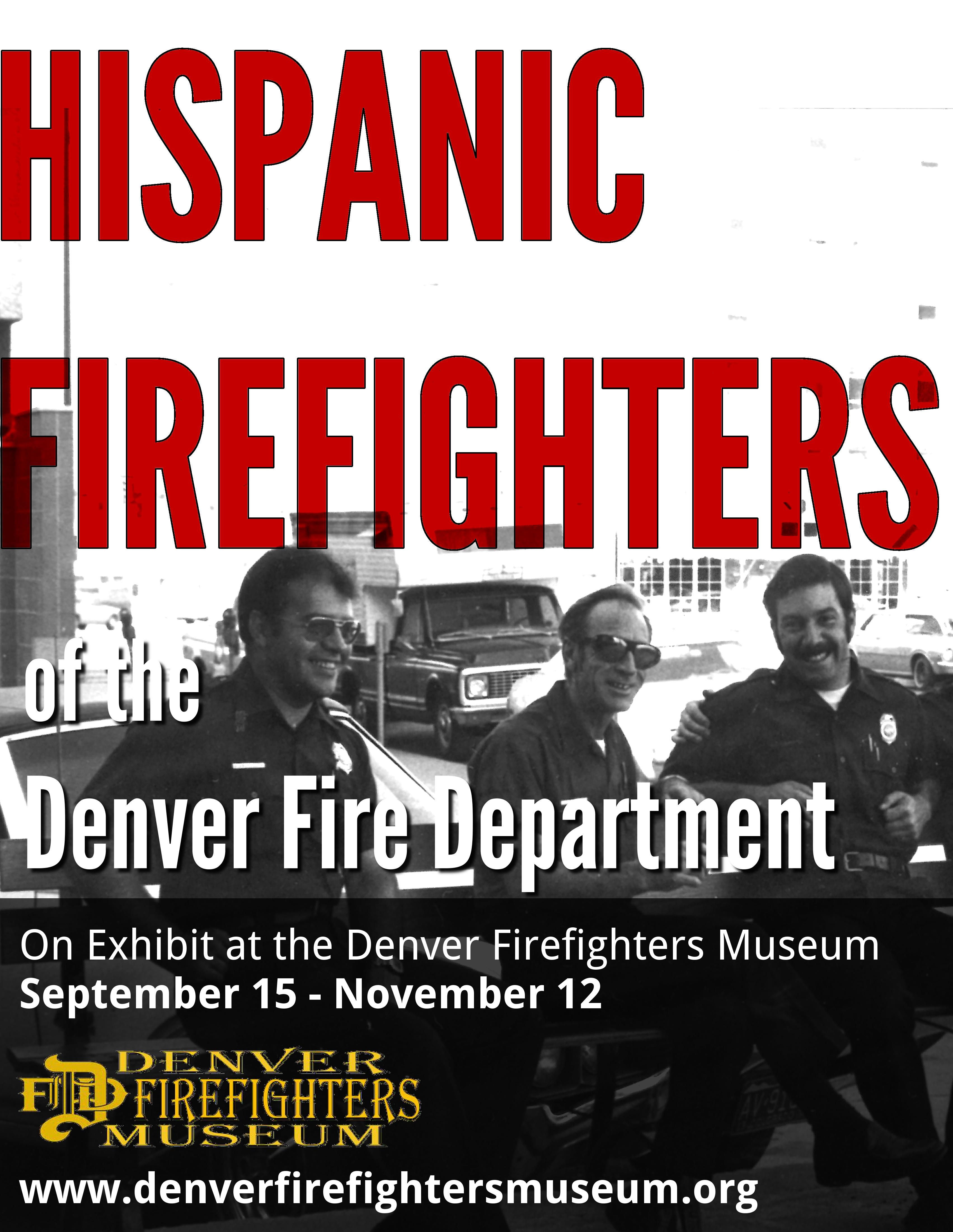 hispanic firefighters 2018 exhibit flyer