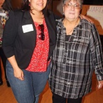 Veronica Barela (right) and daughter Andrea Barela