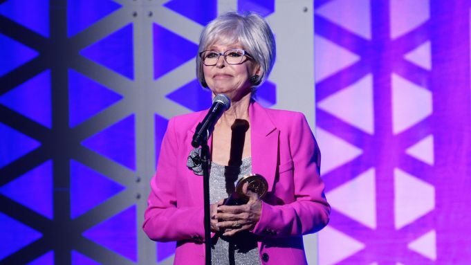 Mandatory Credit: Photo by Paul Zimmerman/Variety/Shutterstock (10238942ci) Rita Moreno 78th Annual Peabody Awards, Show, Cipriani Wall Street, New York, USA - 18 May 2019