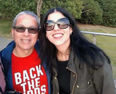 Juan Lopen and his wife Waleska Hernandez enjoying the sights & experience of China.
