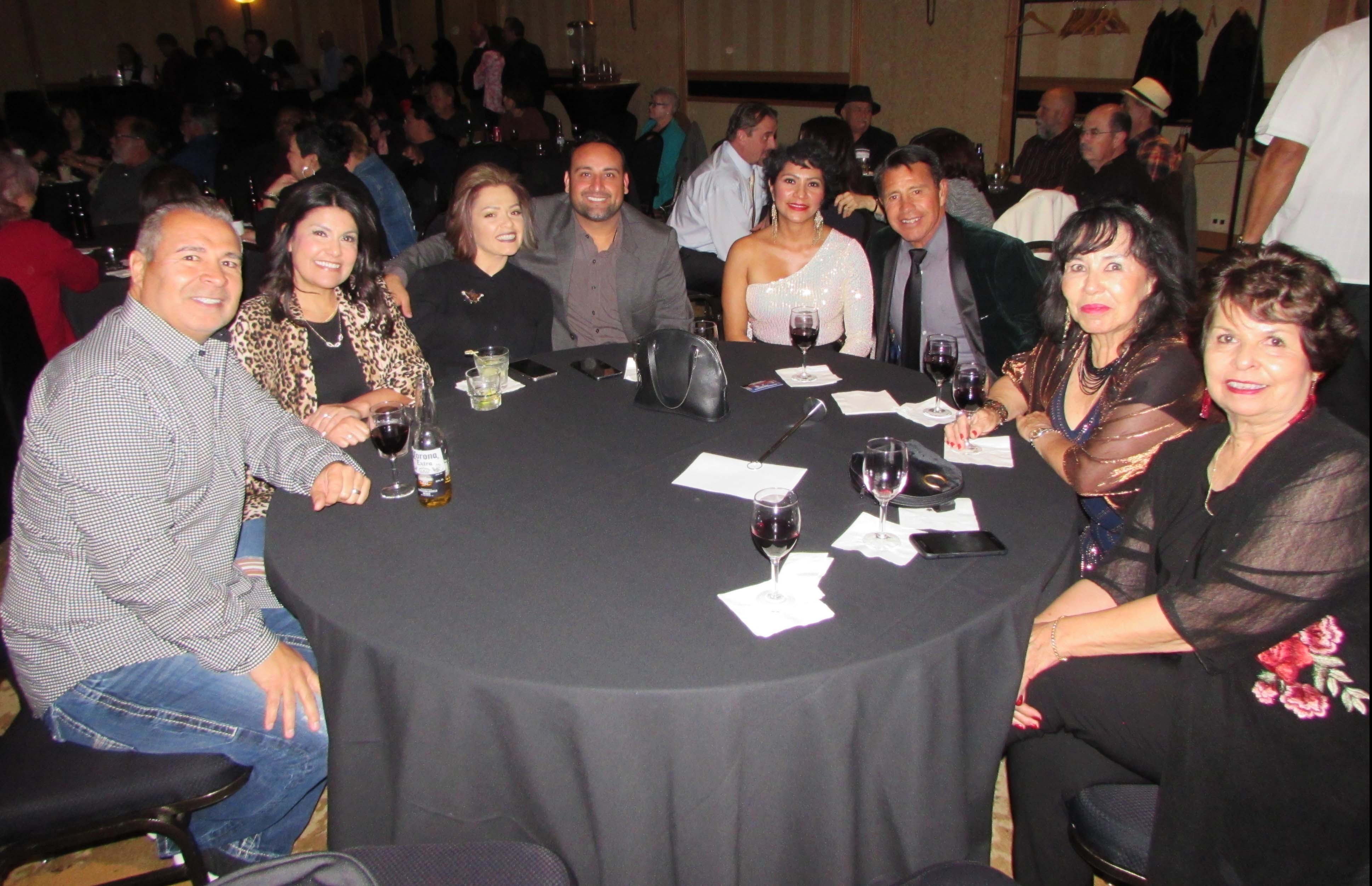 Media Sponsor Latin Life Denver table was more than ready to celebrate