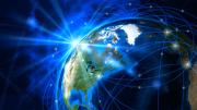 Communications Technology, internet. 3D render