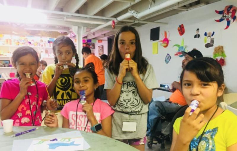 summer camp museo kids
