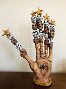 Hand Spirit Sculpture by Cal Duran