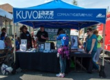 Kuvo Five Points Jazz Festival Volunteer Booth